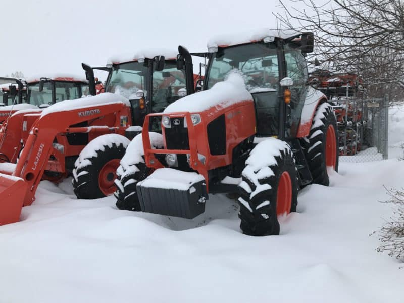 Valley Kubota Heber Snow Yard